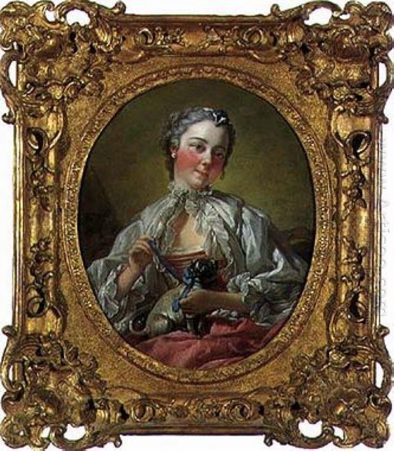 Portrait Of Madame Boucher 1745