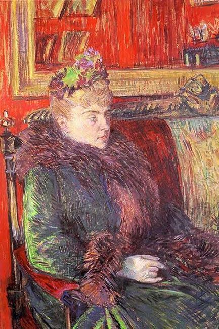 Portrait Of Madame De Gortzikolff 1893