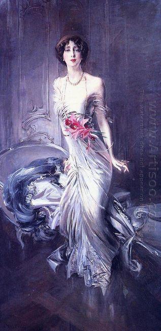 Portrait Of Madame E L Doyen 1910