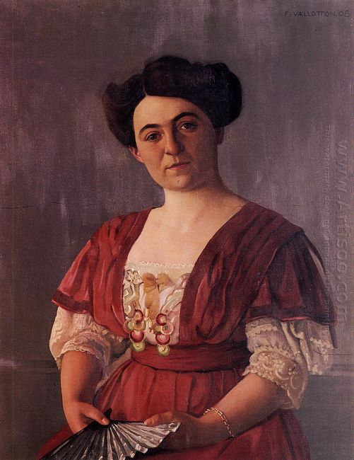 Portrait Of Madame Hasen 1908