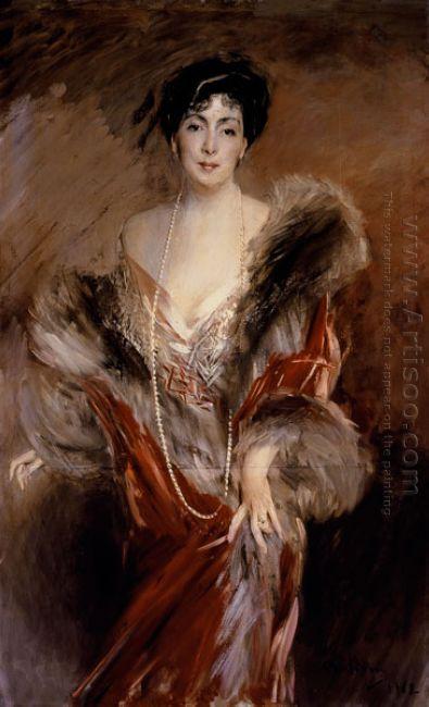 Portrait Of Madame Josephina A De Errazuriz