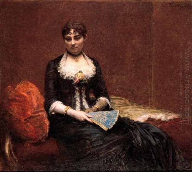 Portrait Of Madame Léon Maître