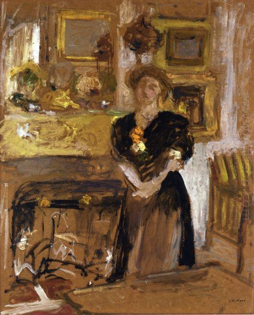 Portrait Of Madame Marie Des Jardins Fontaine