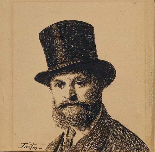Portrait Of Manet 1867