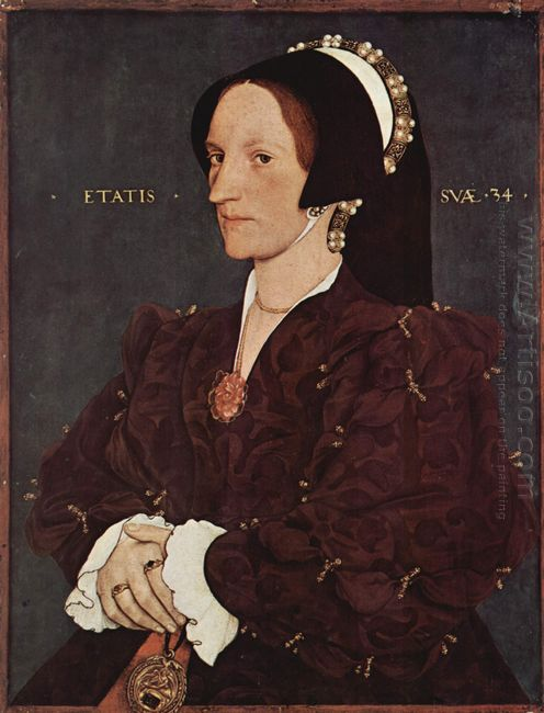 Portrait Of Margaret Wyatt Lady Lee 1540