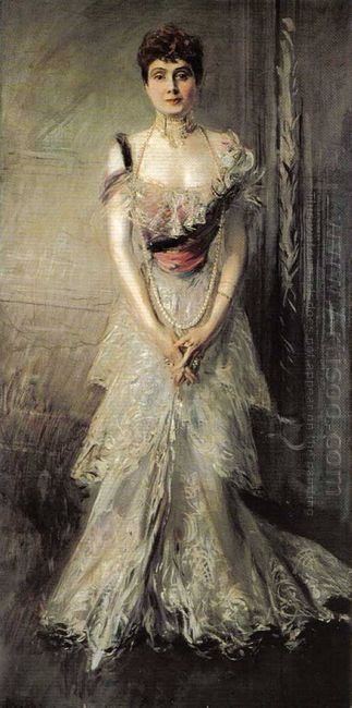 Portrait Of Maria Eulalia Of Spain 1898