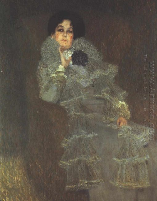 Portrait Of Marie Henneberg 1902