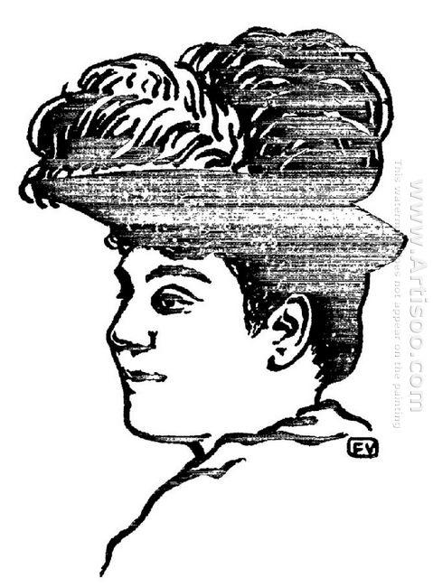 Portrait Of Matilde Serao 1891