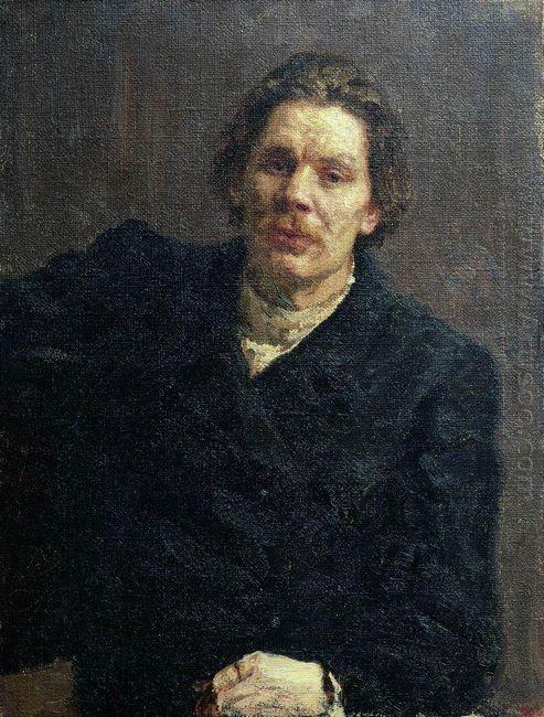 Portrait Of Maxim Gorky 1899