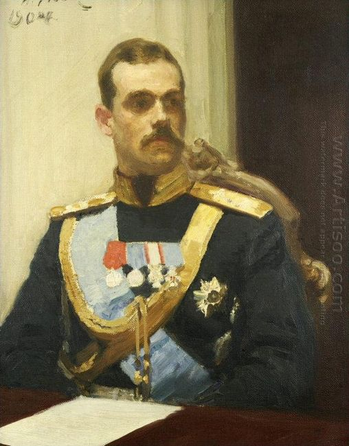 Portrait Of Member Of State Council Grand Prince Mikhail Aleksan