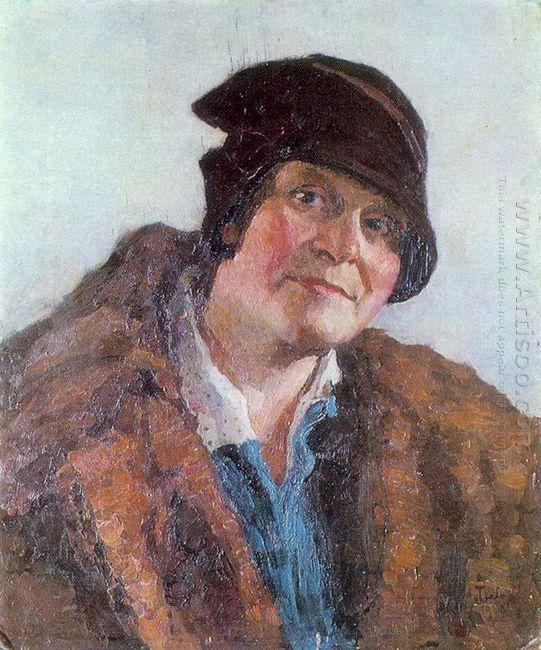 Portrait Of M Grabar Dobryanskaya