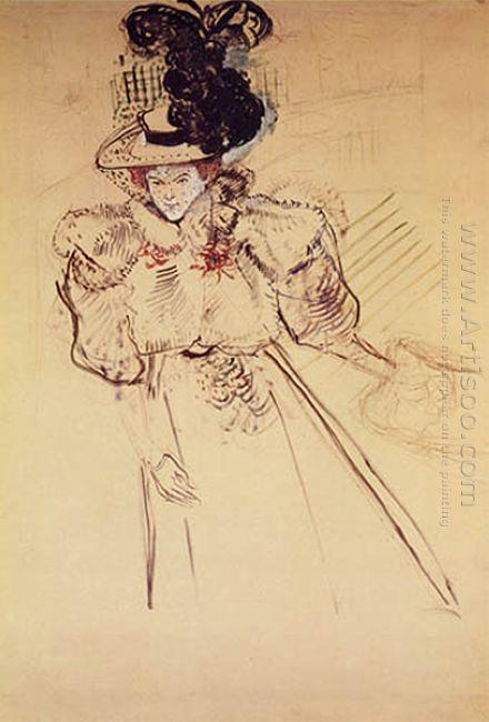 Portrait Of Misia Natanson Sert 1895