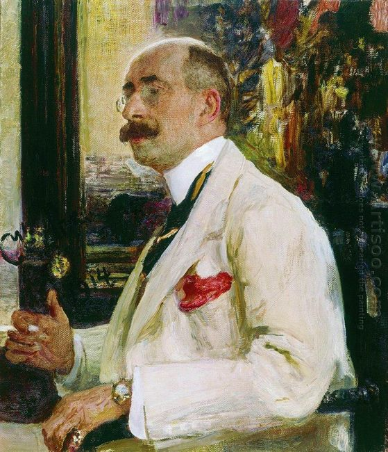 Portrait Of N D Ermakov 1914