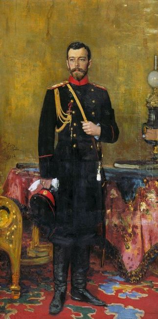 Portrait Of Nicholas Ii The Last Russian Emperor 1895