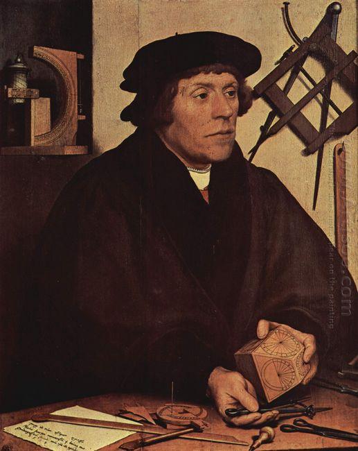Portrait Of Nicholas Kratzer 1528