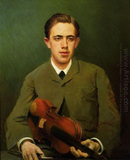 Portrait Of Nikolay Kramskoy The Artist S Son 1882