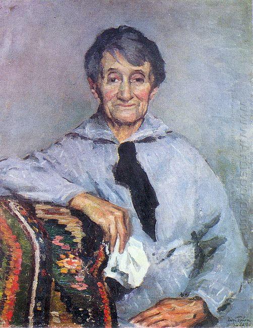 Portrait Of O Grabar Dobryanskaya