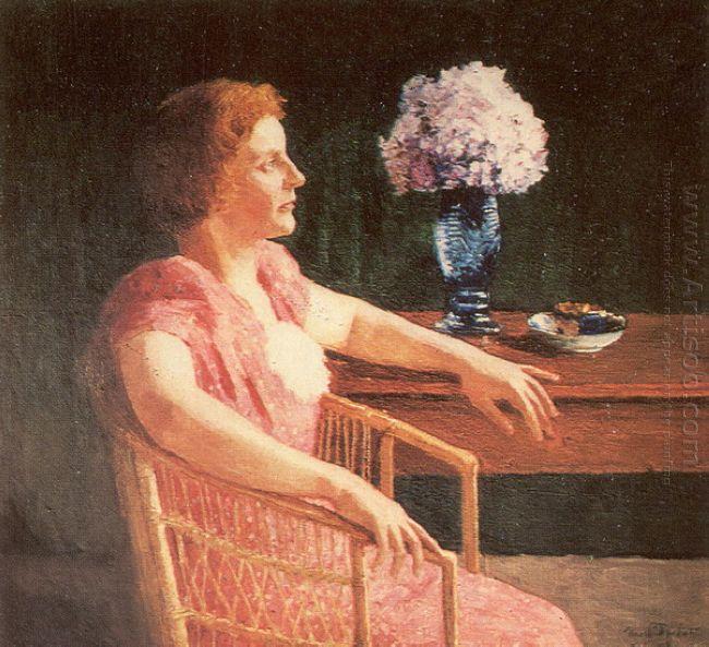 Portrait Of O Yepifanova