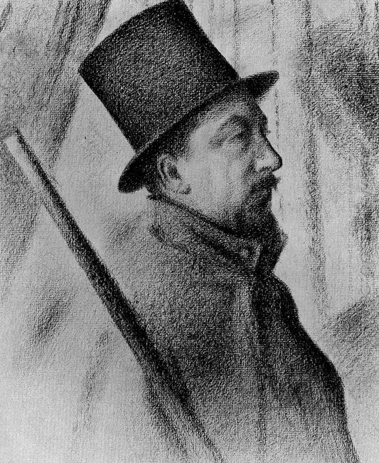 Portrait Of Paul Signac 1890