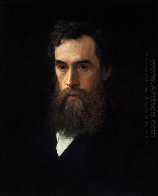 Portrait Of Pavel Tretyakov 1876