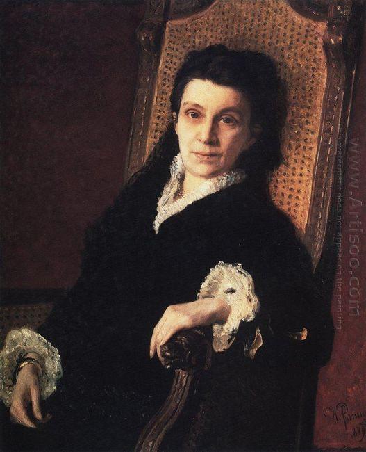 Portrait Of Polixena Stasova 1879