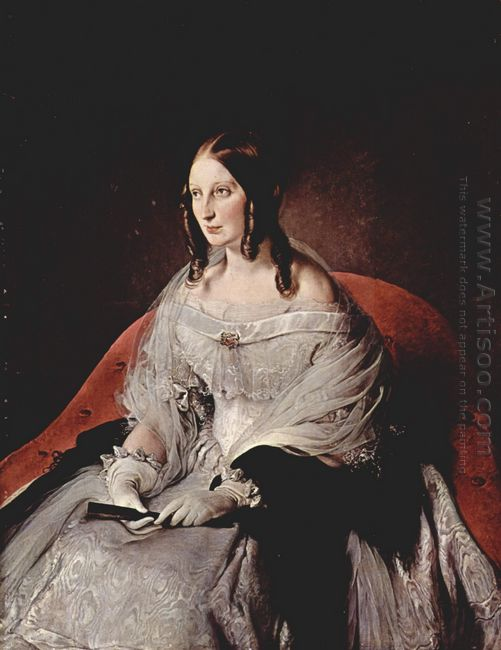 Portrait Of Princess Di Sant Antimo