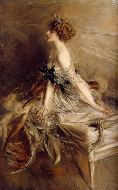 Portrait Of Princess Marthe Lucile Bibesco 1911