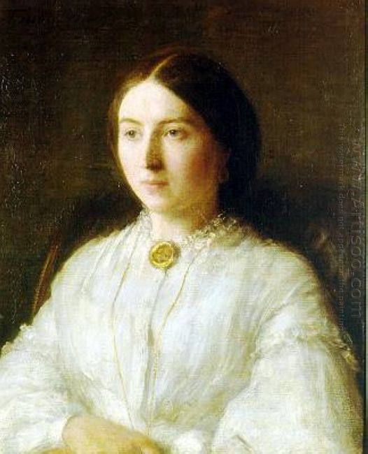 Portrait Of Ruth Edwards 1864