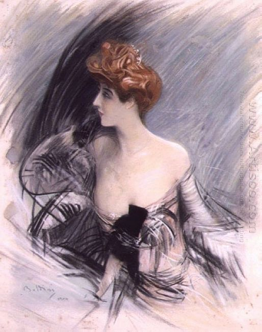 Portrait Of Sarah Bernhardt 1
