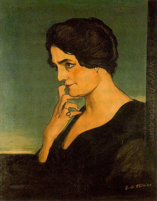 Portrait Of Senora Gartzen 1913