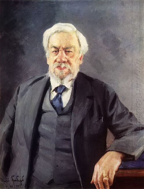 Portrait Of Sergei Chapligin