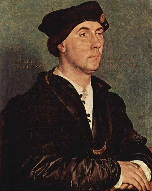 Portrait Of Sir Richard Southwell 1536