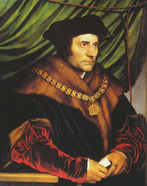 Portrait Of Sir Thomas More 1527