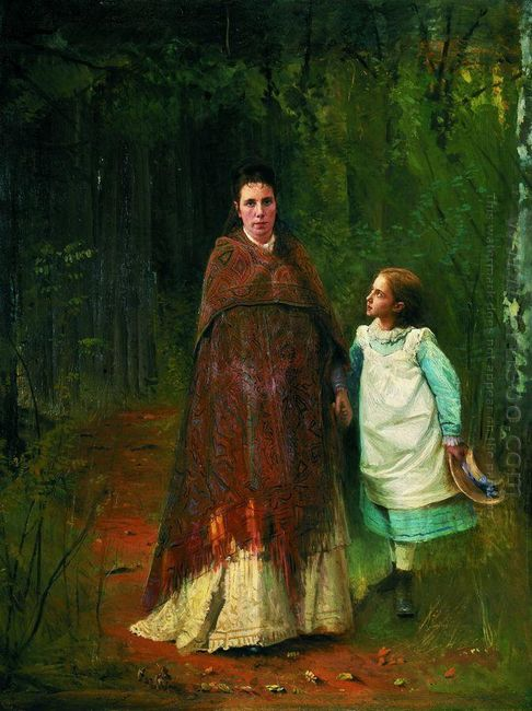 Portrait Of Sofia Nikolaevna And Sophia Ivanovna Archaeology Wif
