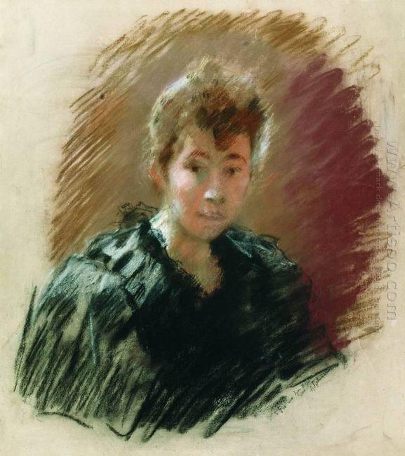 Portrait Of Sofia Petrovna Kuvshinnikov 1894