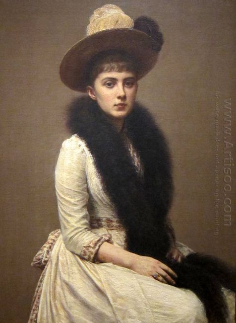 Portrait Of Sonia 1890