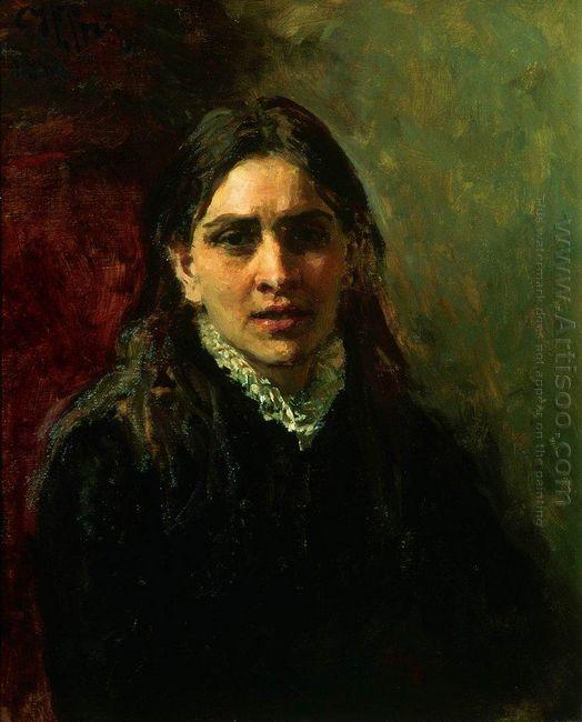 Portrait Of The Actress Pelagey Strepetova 1882
