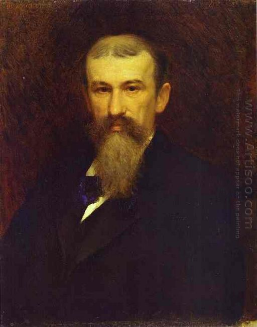 Portrait Of The Artist Alexander Sokolov 1883
