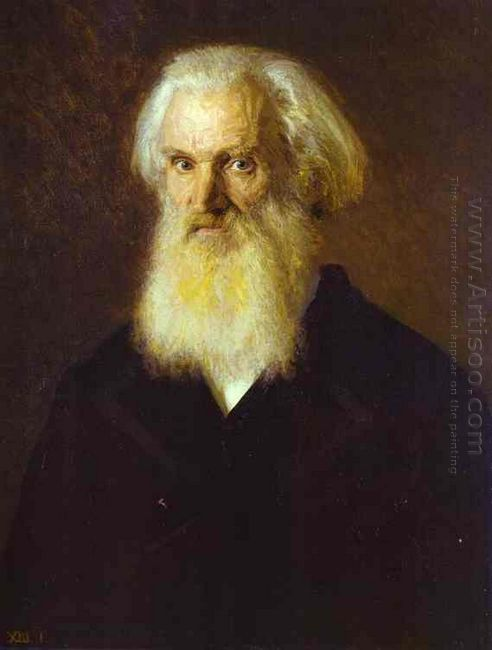 Portrait Of The Artist Mikhail Dyakonov 1875