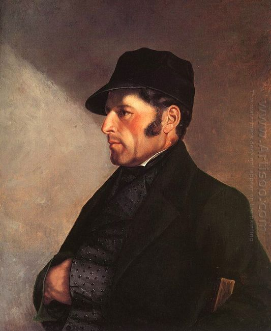 Portrait Of The Artist S Father