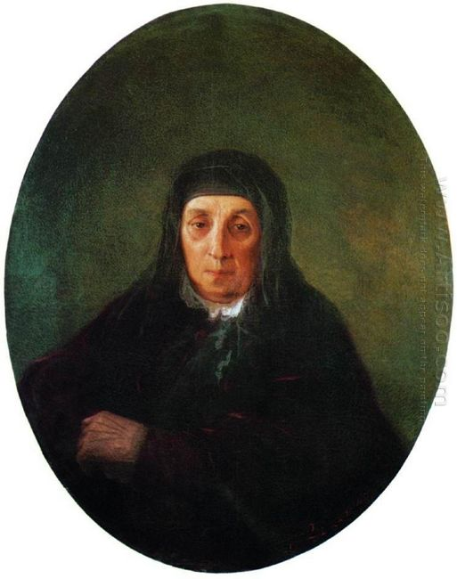 Portrait Of The Artist S Grandmother Ashkhen 1858