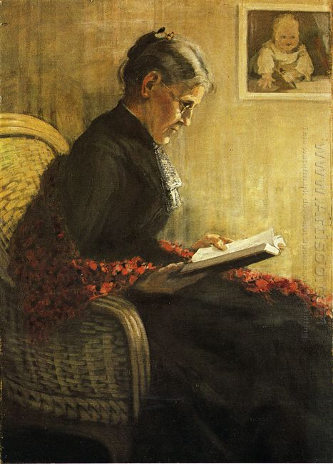 Portrait Of The Artist S Mother 1902
