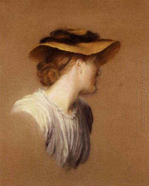 Portrait Of The Artist S Wife Mary