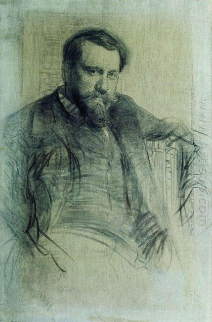 Portrait Of The Artist Valentin Serov 1897