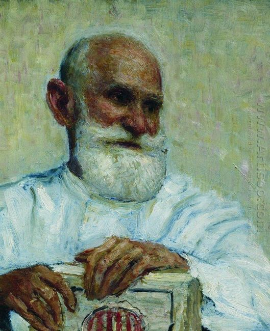 Portrait Of The Physiologist Ivan Petrovich Pavlov 1924