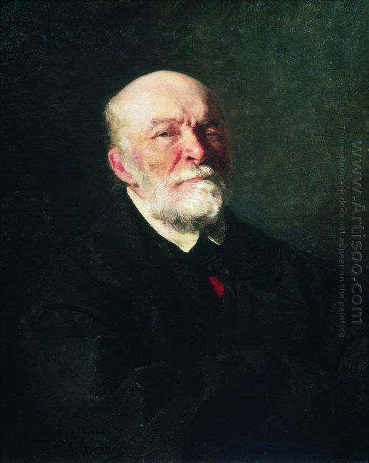 Portrait Of The Surgeon Nikolay Pirogov 1881 1