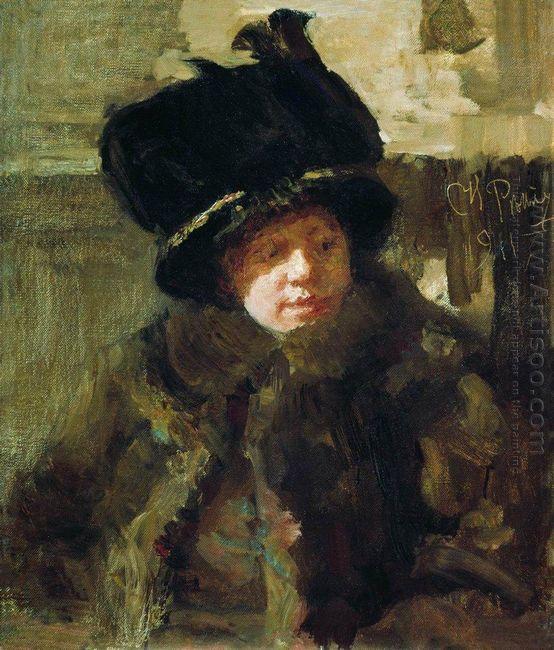 Portrait Of The Writer N B Nordman Severova The Artist S Wife 19