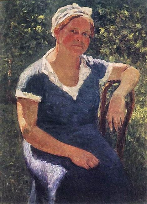 Portrait Of Valentina Grabar