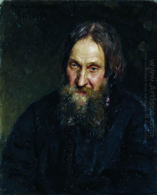 Portrait Of Vasily Kirillovich Syutayev 1882