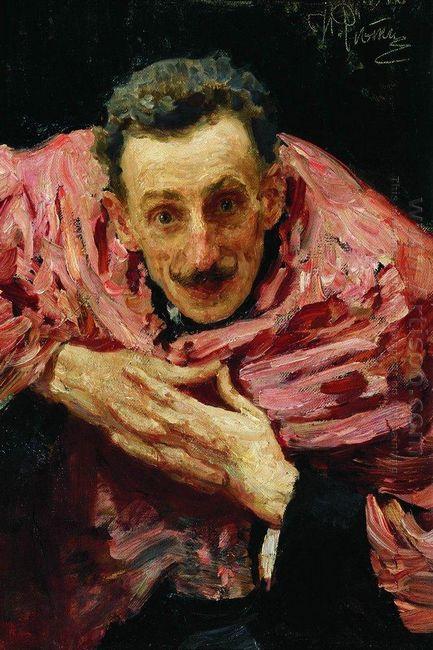 Portrait Of V D Ratov S M Muratov 1910